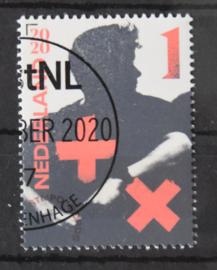NEDERLAND MARTIN GARRIX POSTFRIS GESTEMPELD POST.NL ++ D(B) 195A