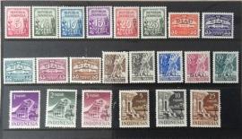 RIAU 1954 ZBL 1-22 POSTFRIS