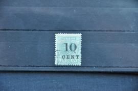 SURINAME 1898 NVPH 32 GEBRUIKT ++ Q 252