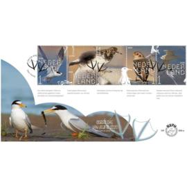 NEDERLAND NVPH FDC E 809 AB VOGELS BIRDS