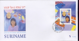 REP. SURINAME ZBL FDC E E210 A KIND