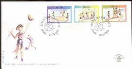 ARUBA 2003 FDC E 109 KINDERZEGELS