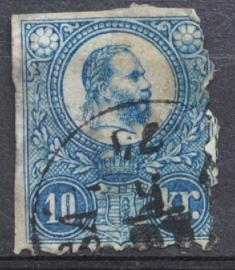 HONGARIJE 1871 MCHL 4 GEBRUIKT ++ L 98