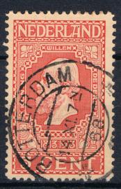 NEDERLAND 1913 NVPH 92 GESTEMPELD ++ J 350