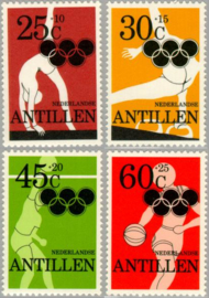 ANTILLEN 1980 NVPH SERIE 663 OLYMPISCHE OLYMPICS