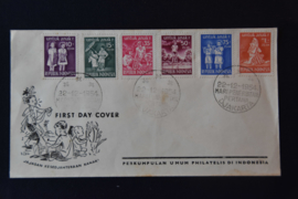 1954 FDC ZBL 127-132