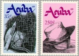 ARUBA 1991 NVPH SERIE 095