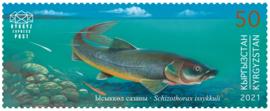 KIRGISTAN 2021 VISSEN FISHES ++ M3 -52