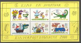 NEDERLAND 2000 NVPH SERIE 1930 KINDERZEGELS