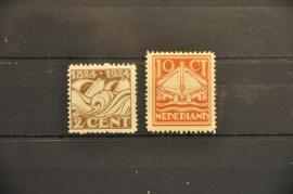NEDERLAND 1924 NVPH 139/40 POSTFRIS ++ P 246