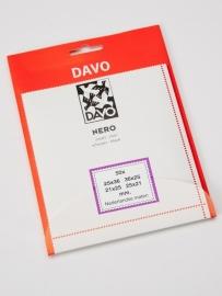 DAVO NERO STROKEN MOUNTS 50 STK/PCS (21mm x 25mm)