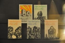 NEDERLAND 1971 NVPH 985-89 ++ P 010