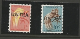 UNTEA 1963 NVPH VIERDE DRUK 47-48 ++ PH