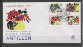 ANTILLEN 1977 FDC E106 KINDERZEGELS