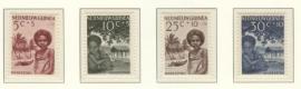 NIEUW GUINEA 1956 NVPH SERIE 41 LEPRA