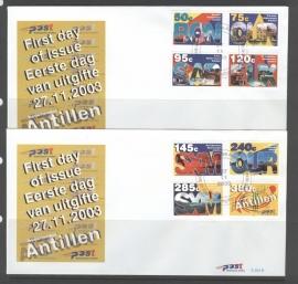 ANTILLEN 2003 FDC E354 AB