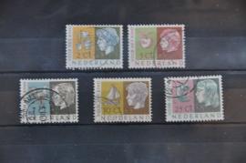NEDERLAND 1953 NVPH 612-616 GEBRUIKT ++ J 79