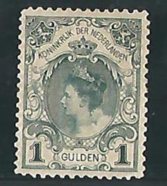 NEDERLAND 1898 NVPH 49 PLAKREST ++ PH