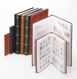 Lindner 1158 insteekalbum middel formaat 16 blz. wit, kleur naar keuze