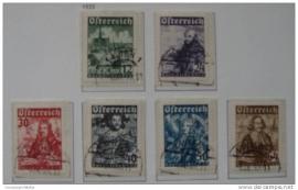 1933 ANK 557-562 KATHOLIKENTAG ++ S 159
