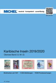 Michel Overzee deel 2-2 Caribische eilanden K-Z 2019-2020
