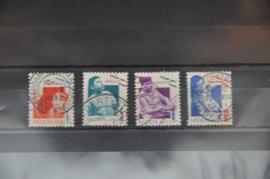 NEDERLAND 1931 NVPH 240-43 GEBRUIKT ++ J 53