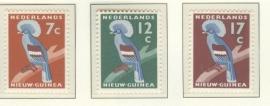 NIEUW GUINEA 1959 NVPH SERIE 54 VOGEL BIRD DUIF