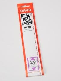 DAVO NERO STROKEN MOUNTS N29 (215 x 33) 25 STK/PCS