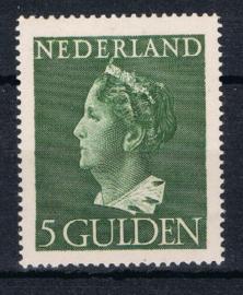 NEDERLAND 1946 NVPH 348 PLAK(REST) ++ K 136