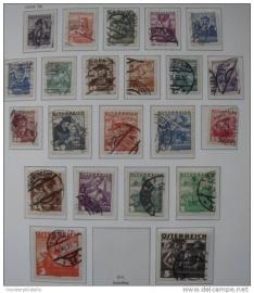 1934-36 ANK 567-83 VOLKSTRACHTEN ++ S 160