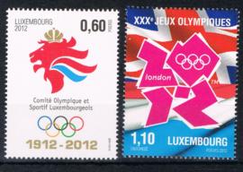 Luxemburg 2012  ++ Lux 127 Olympische olympics
