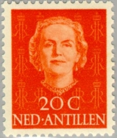 ANTILLEN 1950 NVPH SERIE 223 EN FACE JULIANA