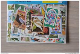 Importa Postzegelpakket 50 vogels ++ 32
