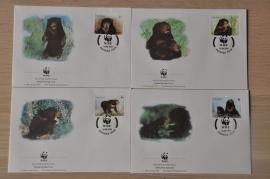 211 ++ FDC WWF WNF WERELD NATUUR FONDS ++ LAOS BEER BEAR