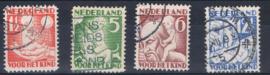 NEDERLAND 1930 NVPH 232-35 GEBRUIKT ++ A L 556-2