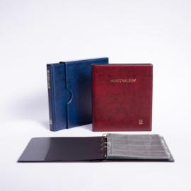 POPULAIR de Luxe  Gewatteerd Album incl. Cassette, met goudopdruk, incl. 5 muntbladen en zwarte schutbladen