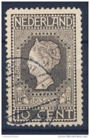 NEDERLAND 1913 NVPH 93 GESTEMPELD ++ J 28