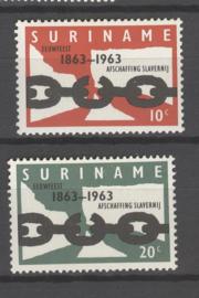 SURINAME POSTFRIS NVPH 396-97