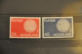 NEDERLAND 1970 NVPH 971-72 ++ P 005