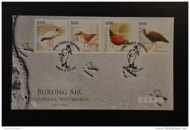 FDC INDONESIA 2014 VOGELS ++ M1 - 107