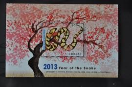 2013 NVPH --- BLOK JAAR VAN DE SLANG SNAKE SERPENT