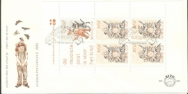 NEDERLAND NVPH FDC E206A KIND CHILD