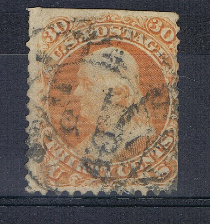 USA UNITED STATES 1861 MCHL 24  ++ C 187