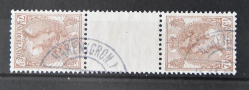 NEDERLAND 1924 NVPH 61C GESTEMPELD ++ Q 276