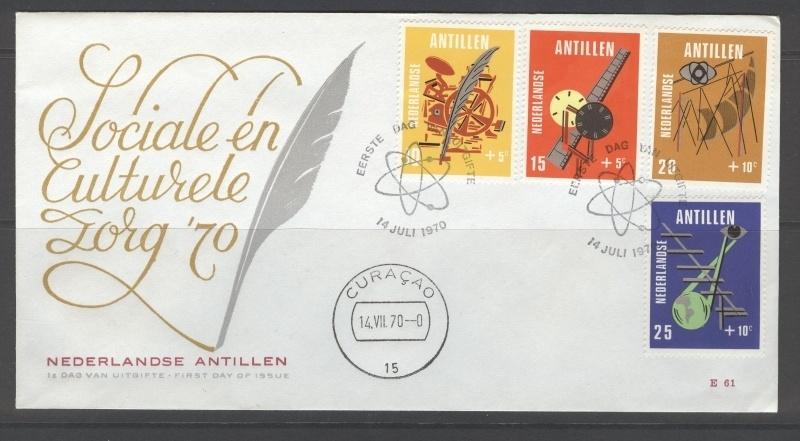 ANTILLEN 1970 FDC E061 KINDERZEGELS