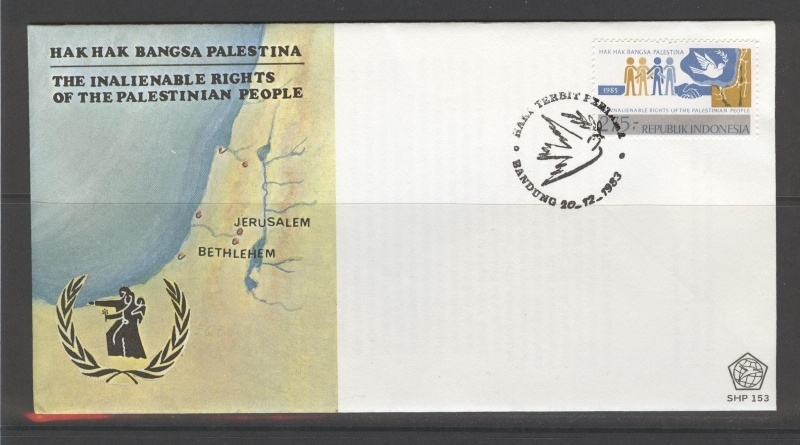 INDONESIË 1983 FDC 153