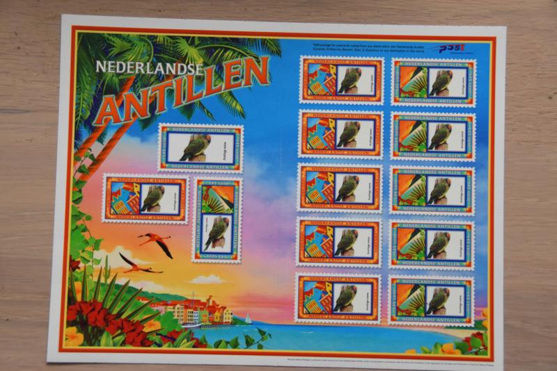 ANTILLEN 2004 NVPH SERIE VELLEN 1534/35(2) VOGEL