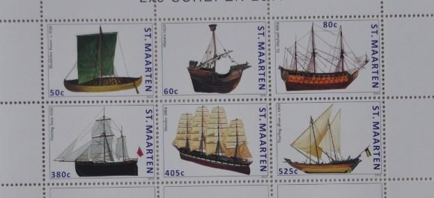 NVPH 46-51 SCHEPEN SHIPS SCHIFFE BATEAUX