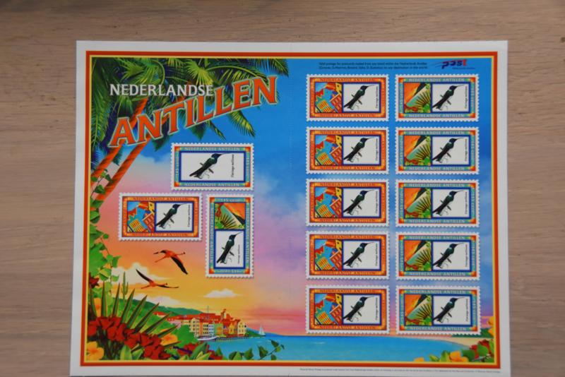 ANTILLEN 2004 NVPH SERIE VELLEN 1534/35 VOGEL