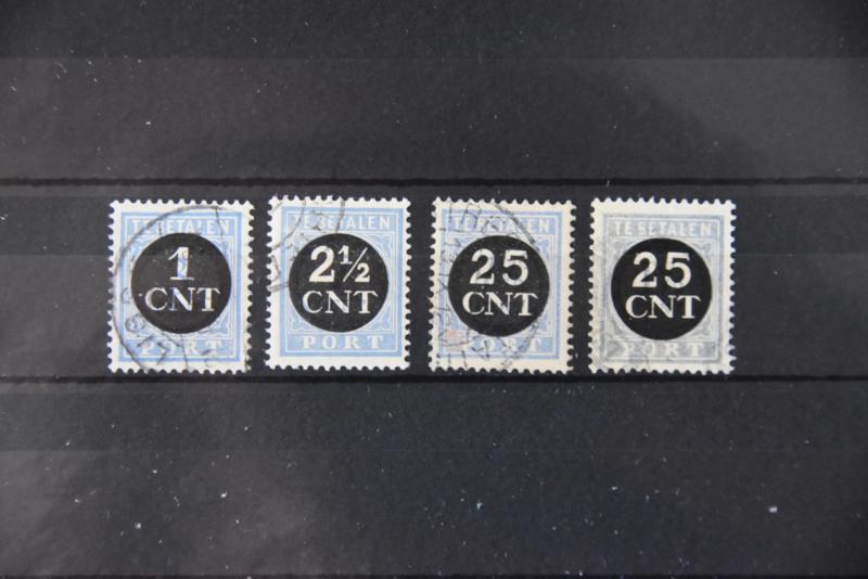 1923 PORT P61-64 GESTEMPELD ++ A 502